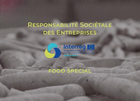 La responsabilité sociétale des entreprises dans le secteur agroalimentaire (BE/FR)